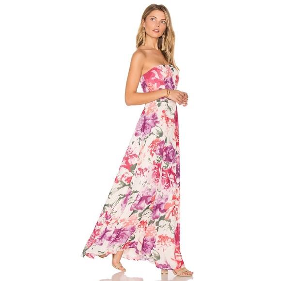 74ad000a1c3c BB Dakota Dresses   Rsvp Rosalie Apricot Blush Dress   Poshmark